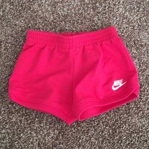 Baby Nike Pink Shorts